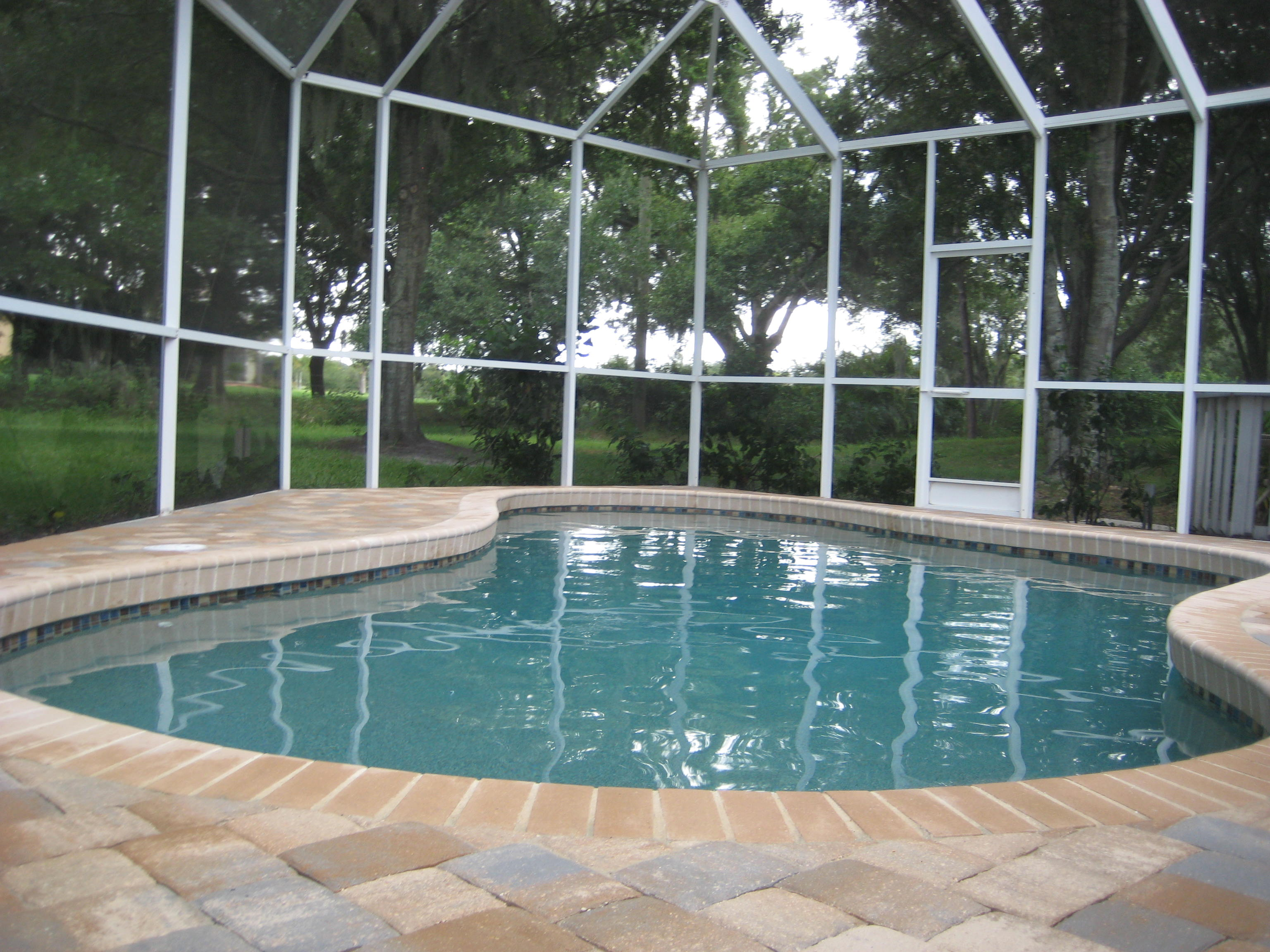 Thin Overlay Pavers Pool Renovation  Pool Resurfacing  Thin Paver Decking Overlays
