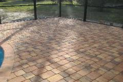 Paver Deck installation